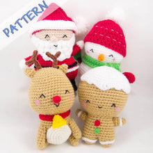 Load image into Gallery viewer, Christmas Crochet Amigurumi Patterns