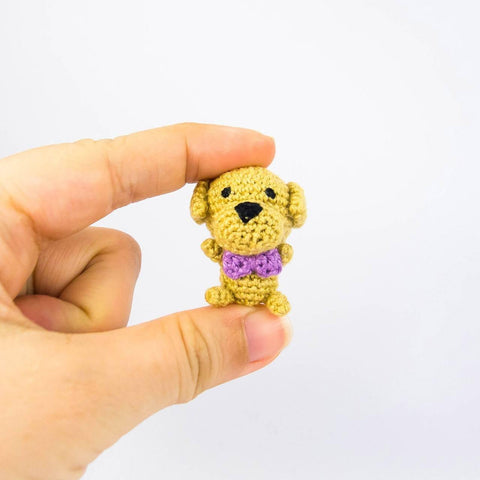 Mini Dog Amigurumi