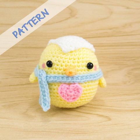 Easter Chick Crochet Pattern Snacksies Handicraft