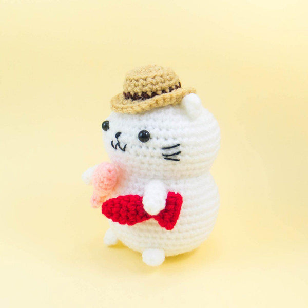 Fisherman Cat Crochet Pattern
