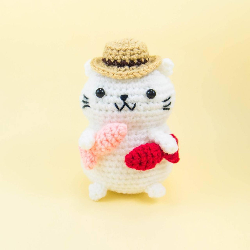 Fishing Cat Amigurumi
