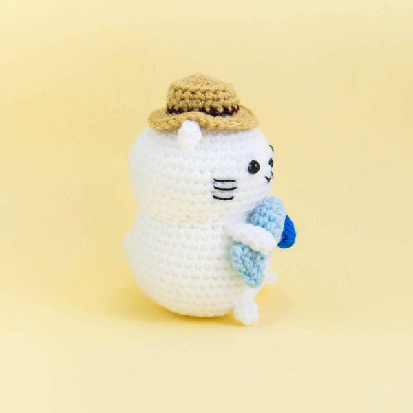 Amigurumi Cat Plush Pattern