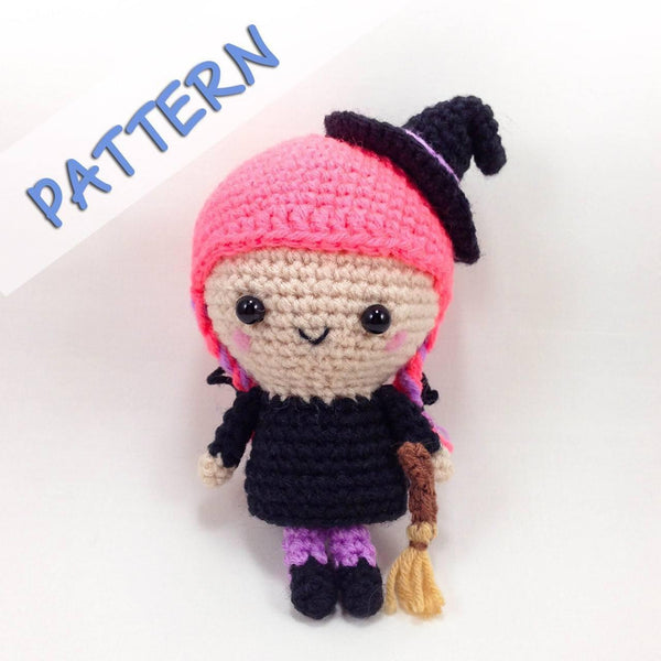 Flo the witch crochet pattern