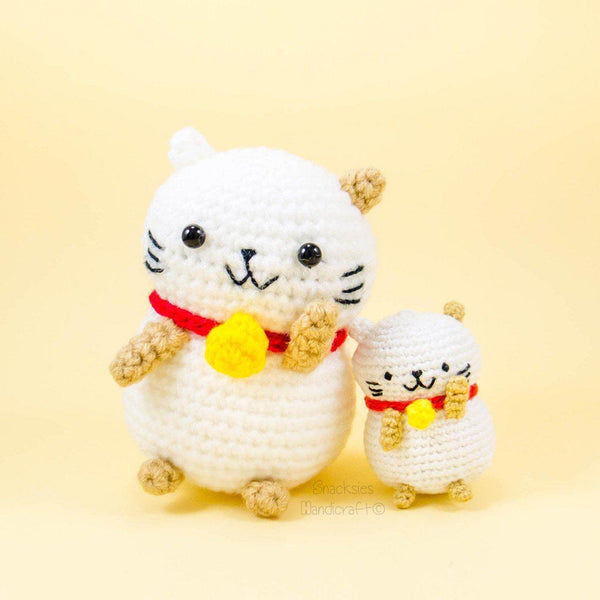 Stuffed Lucky Cat Pattern
