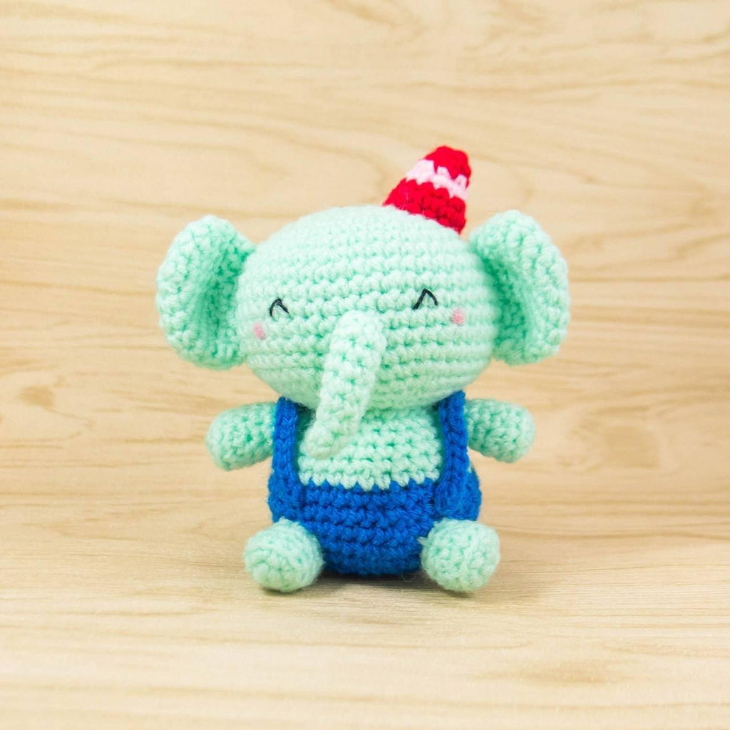 Amigurumi Elephant Crochet Toy