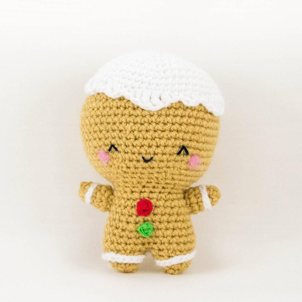 Ginger the Gingerbread Man Amigurumi For Christmas