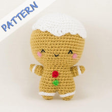 Load image into Gallery viewer, Christmas Set Amigurumi Pattern Gingerbread Man Pattern