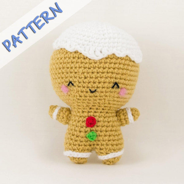Christmas Set Amigurumi Pattern Gingerbread Man Pattern