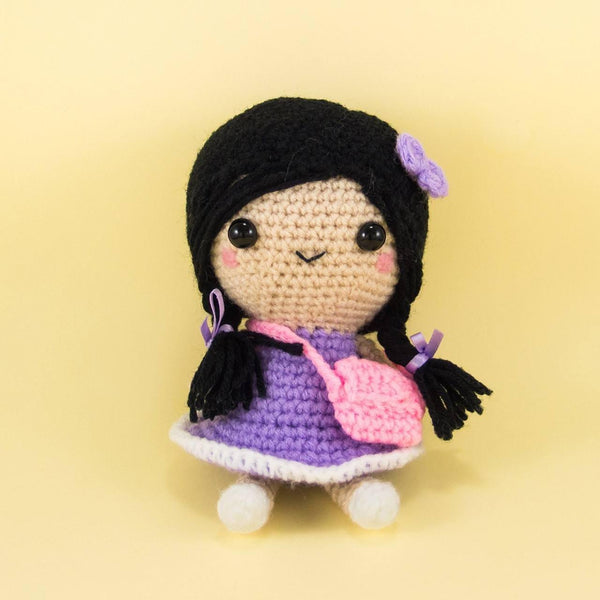 Doll with Plaits Amigurumi
