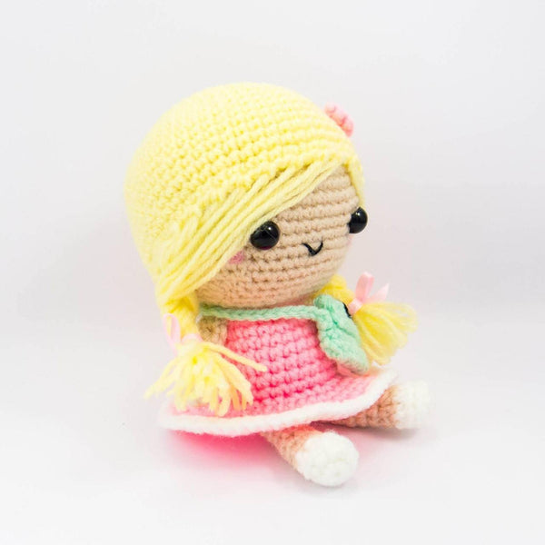 Handmade Doll With Plaits