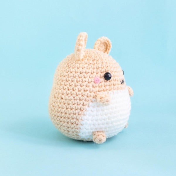 Hamster Plushie Side view