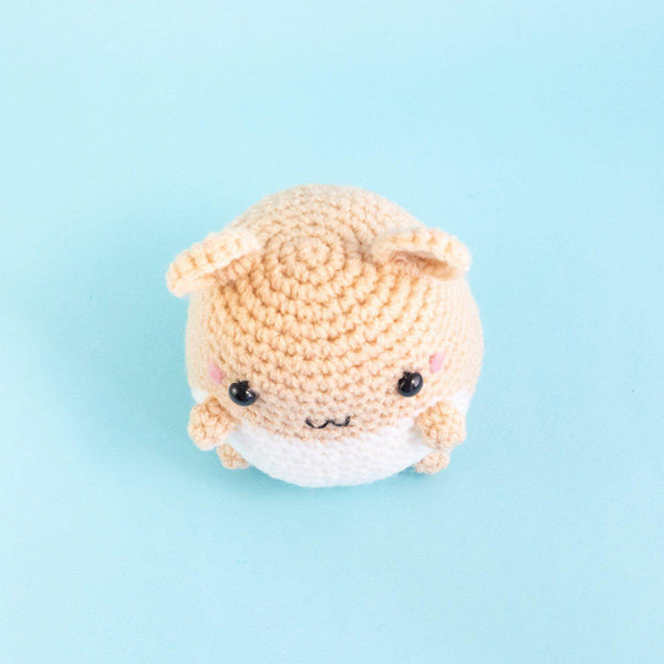Crochet Hamster Stuffed Animal Pattern