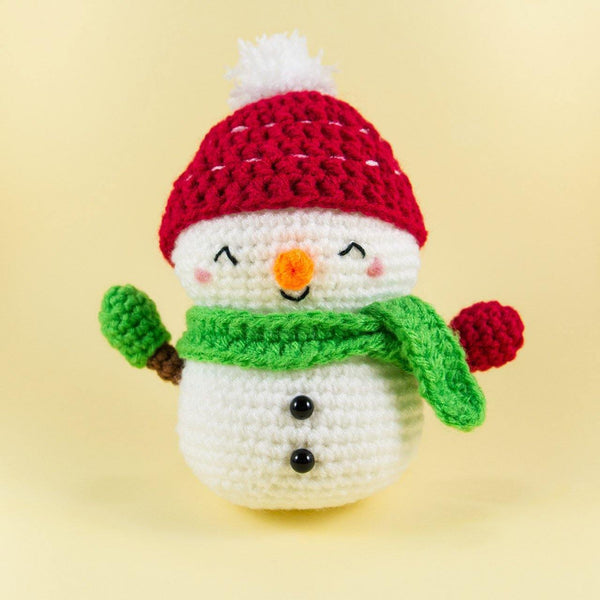 Jolly the Snowman Plush For Christmas