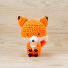 Load image into Gallery viewer, Kito the Fox Amigurumi
