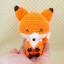 Load image into Gallery viewer, Amigurumi Fox Doll