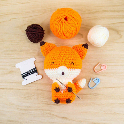 Fox Amigurumi Kit