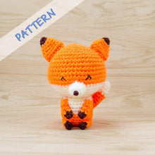 Load image into Gallery viewer, Kito the Fox amigurumi pattern