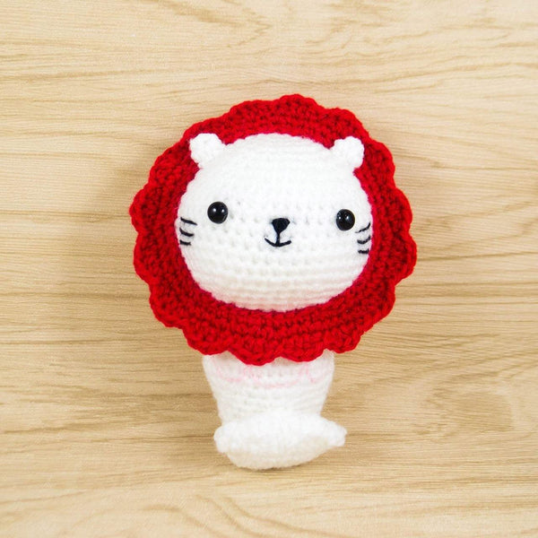 Crochet Merlion Plush