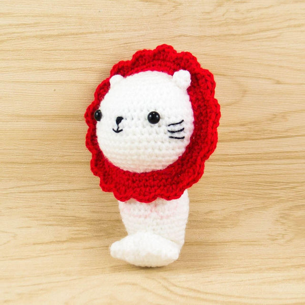 Amigurumi Merlion Stuffed Animal