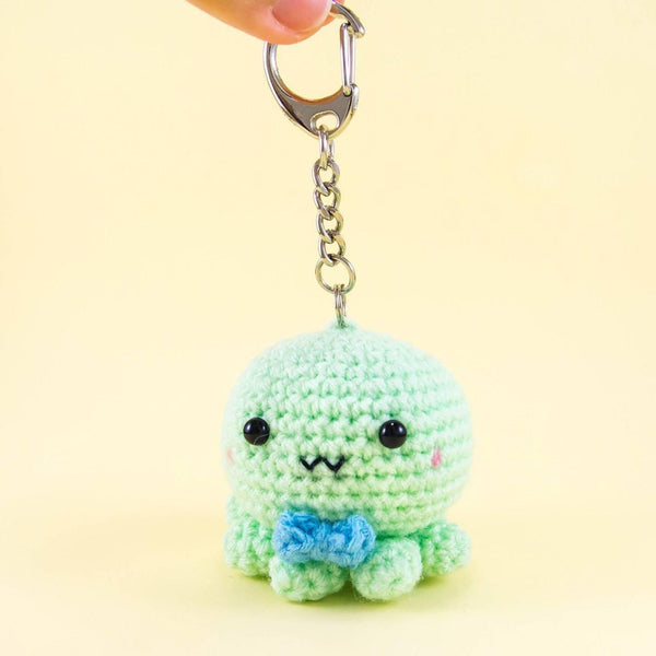 Octopus Stuffed Animal with Key chain