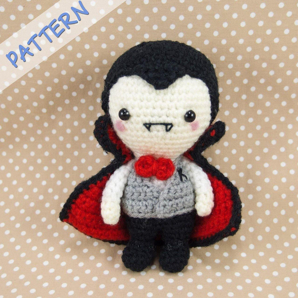 Mr K the Vampire Amigurumi Pattern