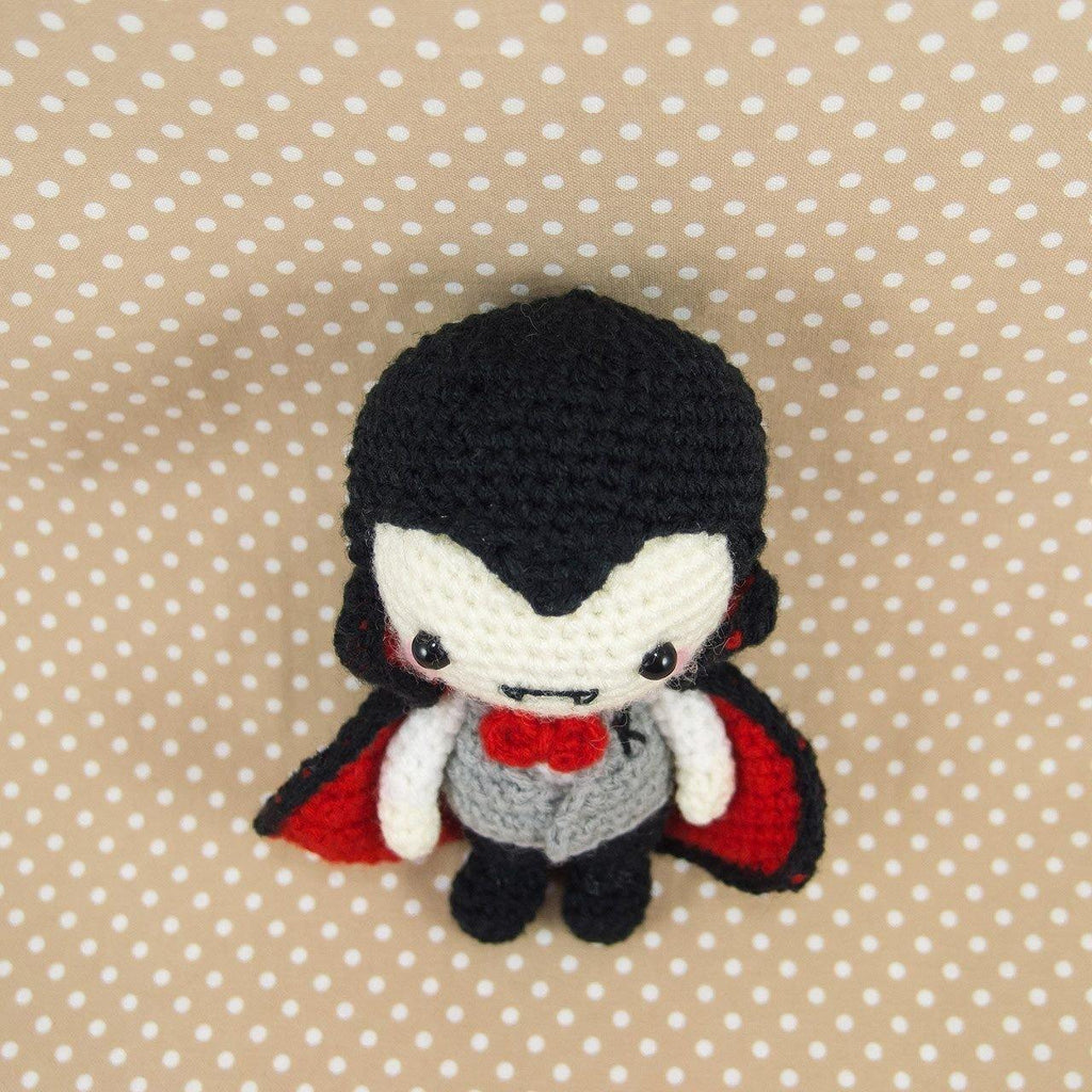 Mr K the Vampire Amigurumi Crochet Pattern – Snacksies Handicraft