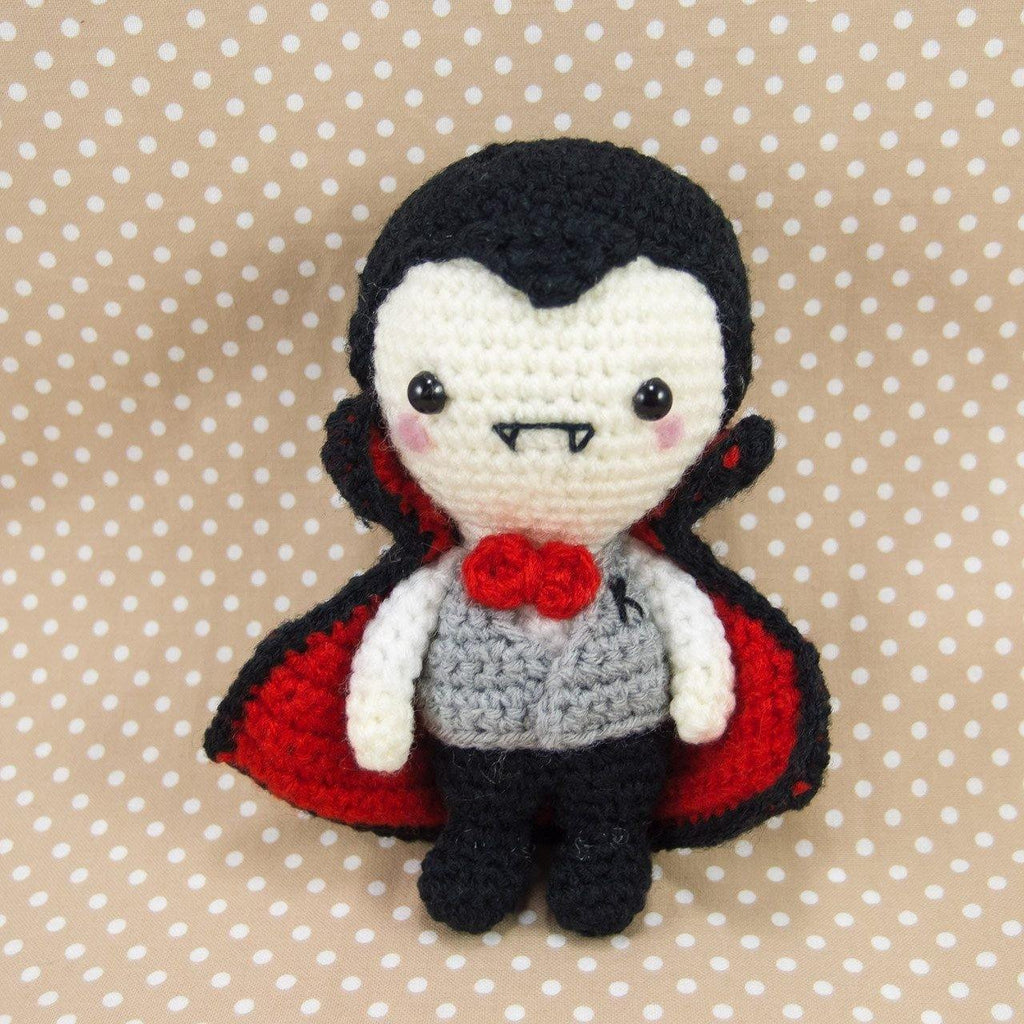 Mr K the Vampire Amigurumi