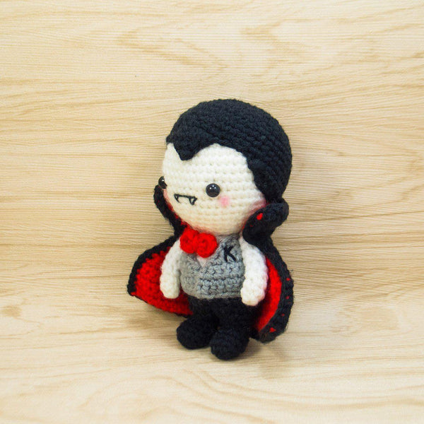 Mr K the Vampire Crochet Toy