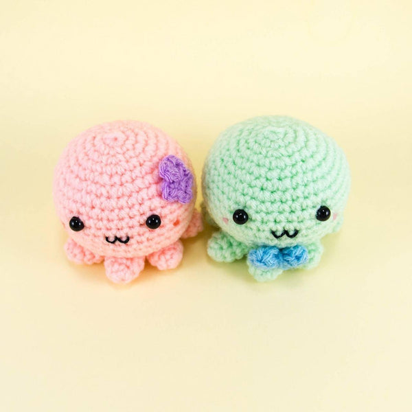 Plush Octopus Amigurumi for Couple Gifts