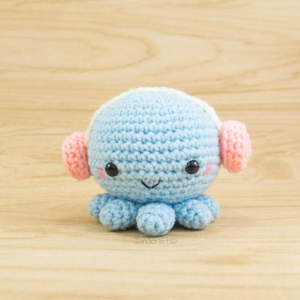 Handmade octopus plush
