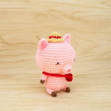 Load image into Gallery viewer, Crochet Pig Amigurumi Pattern for DIY