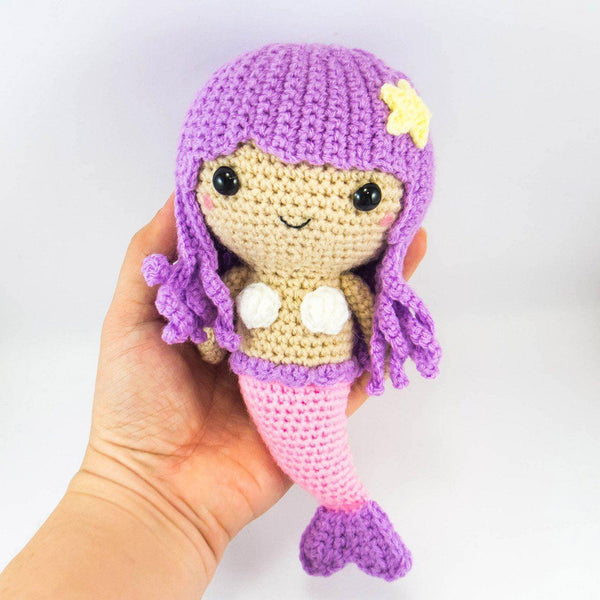 Crochet Mermaid Doll Pattern