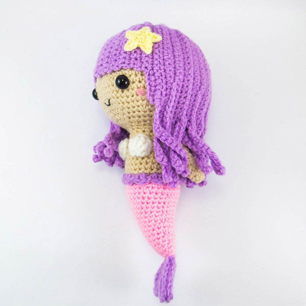 Mermaid doll amigurumi pattern