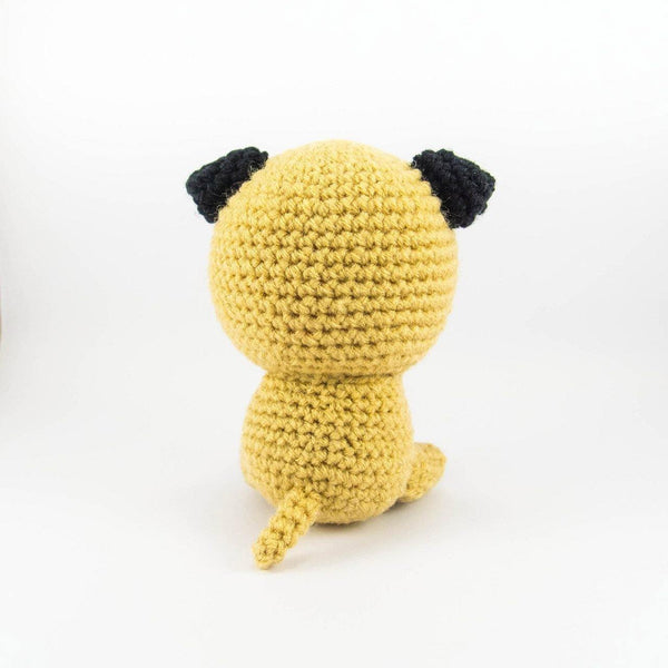 Dog Crochet Pattern for Dog Lovers Back View