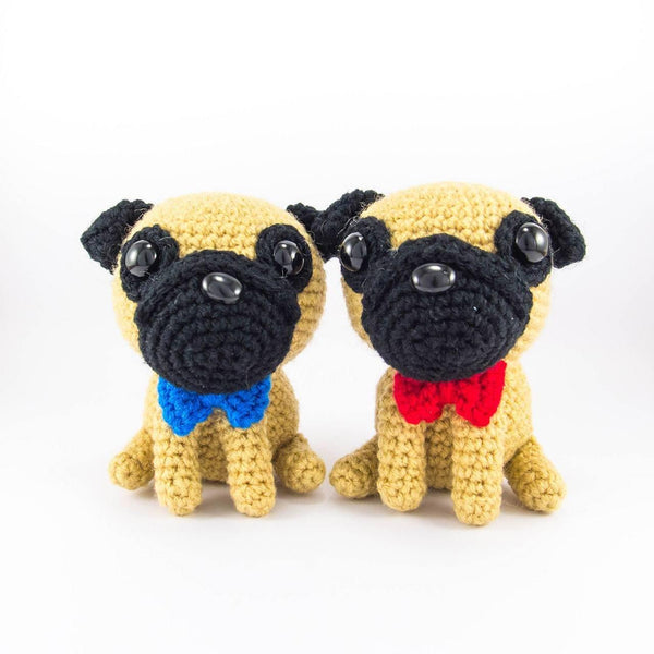 Amigurumi Pug Stuffed Animals