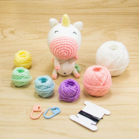 Unicorn Amigurumi Kit