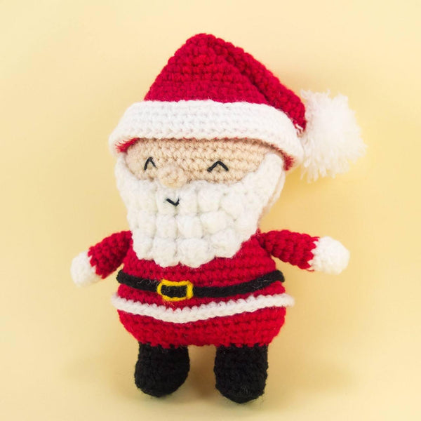 Santa Claus Plush for Christmas Decor
