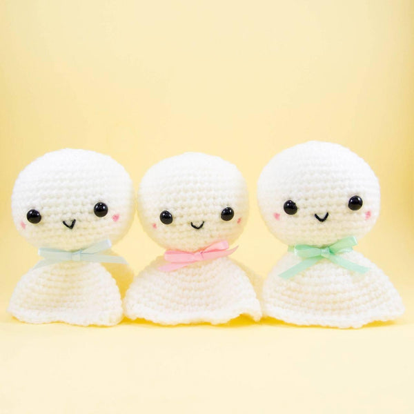 Crochet Japanese Weather Dolls