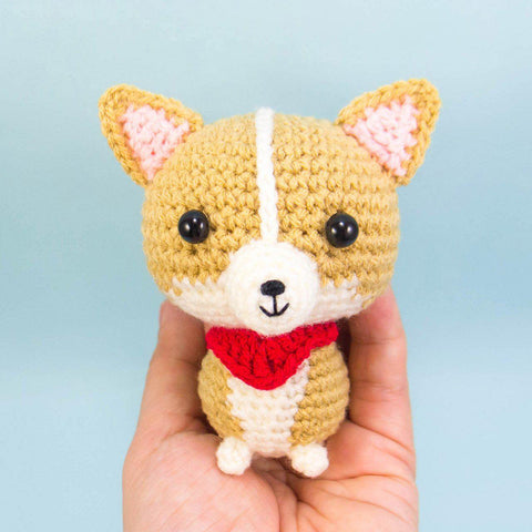 Crochet Corgi Plush