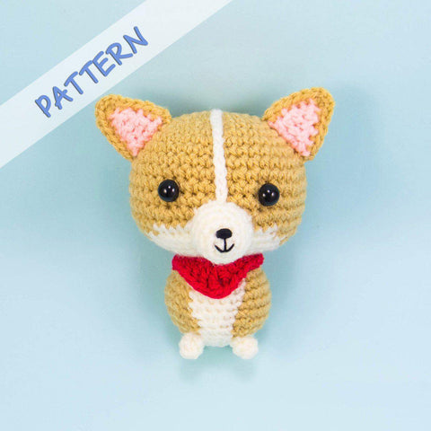 Toto the Corgi Amigurumi Pattern