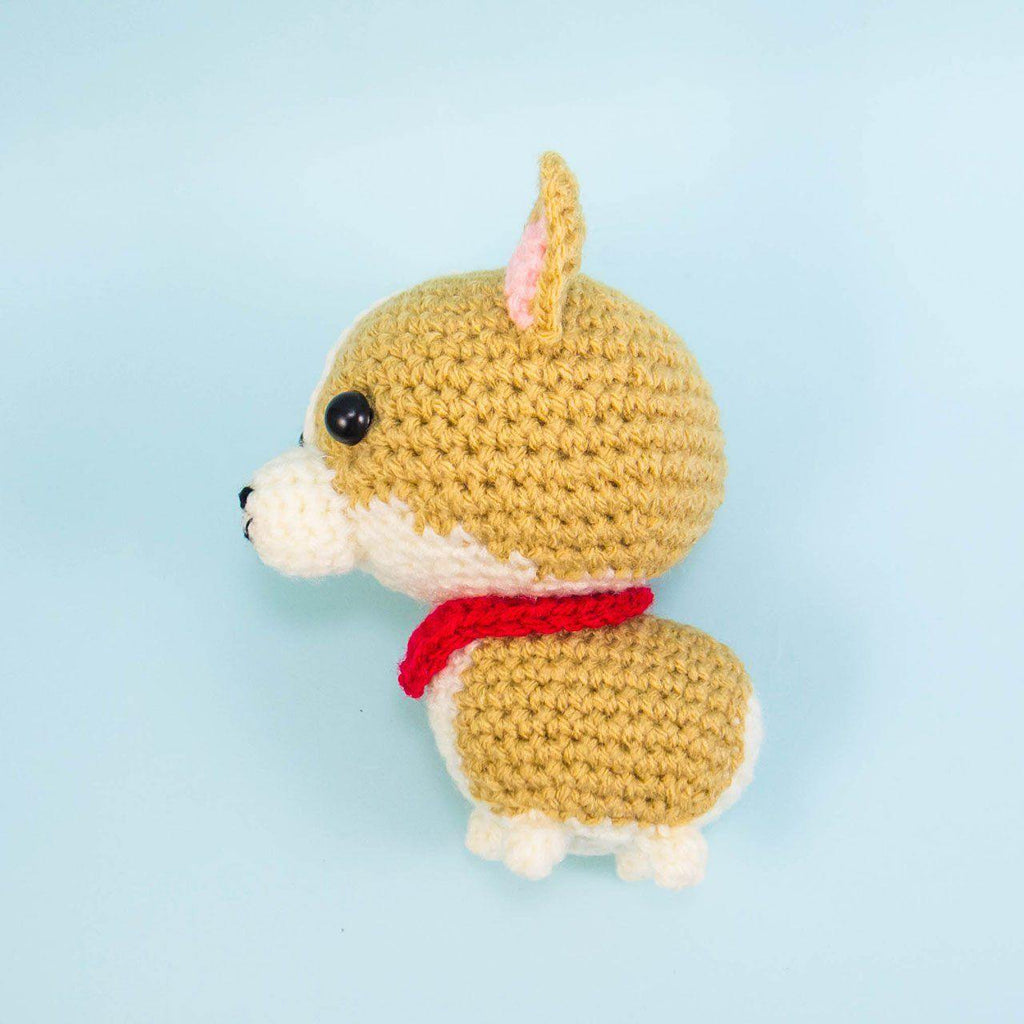 Toto the Corgi Amigurumi Pattern – Snacksies Handicraft