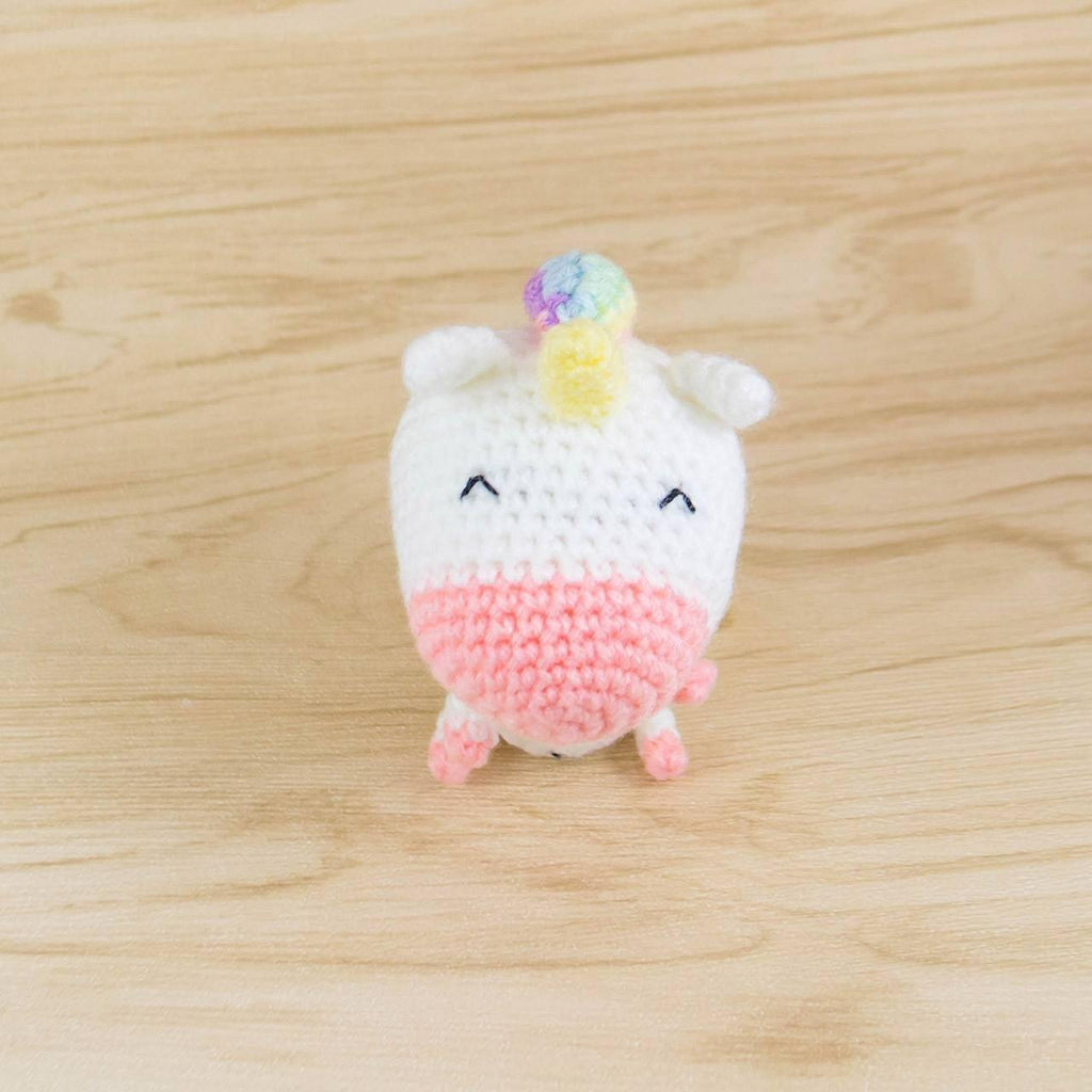 Picomaru the Baby Rainbow Unicorn Amigurumi Pattern & Kit – Tiny ... | 1024x1024