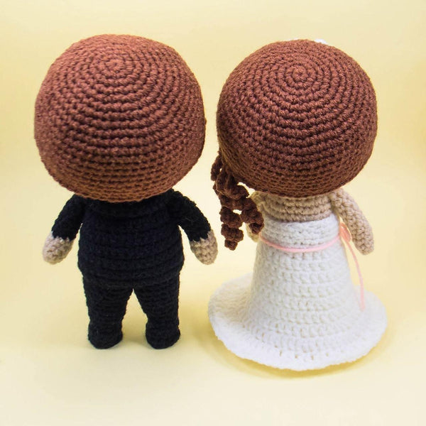 Handmade wedding dolls for wedding gift