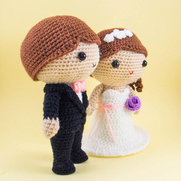 Bride and Groom Crochet Pattern