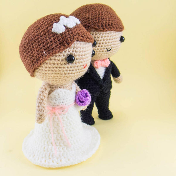 Wedding dolls Crochet Dolls