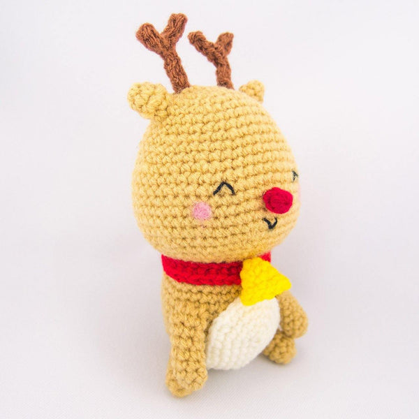 Reindeer Amigurumi Pattern for Christmas