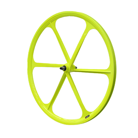 700c Fixie Single Speed Road Bike Wheel Front Yellow
