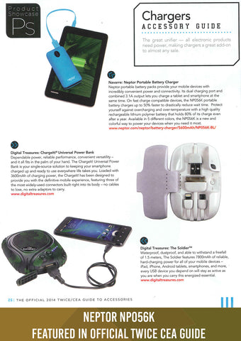 Neptor NP056K Featured in Official Twice CEA Guide (May.25.2014)