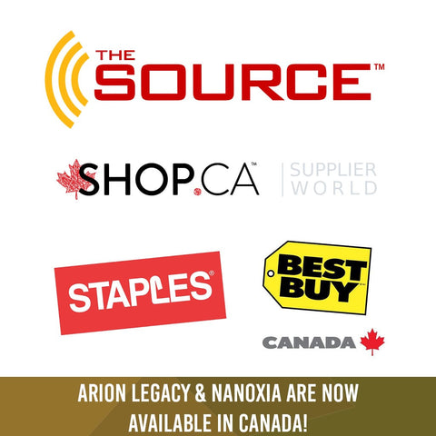 Arion Legacy & Nanoxia are now available in Canada! (Jan.01.2016)