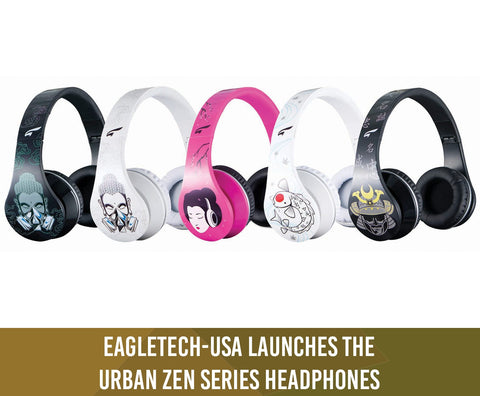 Eagletech-USA Launches the Arion® Urban Zen Series Headphones (Mar.10.2013)